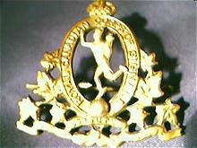 First World War Canadian Army Badge