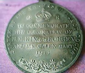 1935 King George V & Queen Mary Silver Jubilee Medal