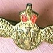 NZ RAF Wings Insignia Circa World War Two