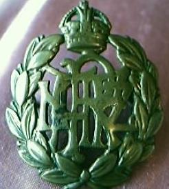 Military Badge NZRAF