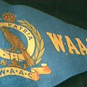 World War Two  N.Z. W.A.AC. Pennant