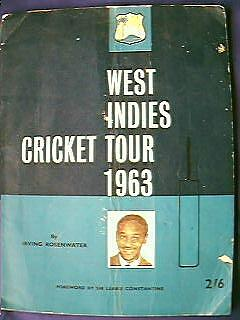 West Indies Cricket Team Tour of England 1963 Program