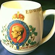 King Edward V111 Coronation Tankard 1937