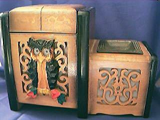 Musical Cigarette Box Circa 1920's