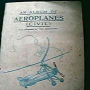 JOHN PLAYER  Aeroplane Cigarette Cards 1930's
