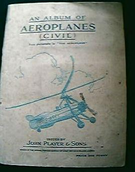 JOHN PLAYER  Aeroplane Cigarette Cards 1930's