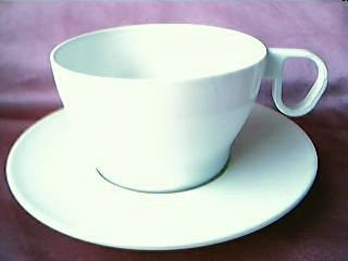 BOAC  Airlines Plastic Cup & Saucer