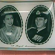 Royal Souvenir QE11 and Duke Edinburgh