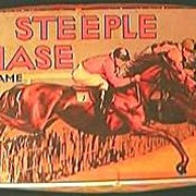 "Vintage "" The Steeple Chase Game"" Circa 1940's-50's"