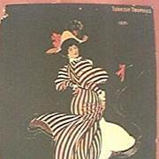 Rare Victorian Large Portrait Sized Cigarette Card For Turkish Trophies.