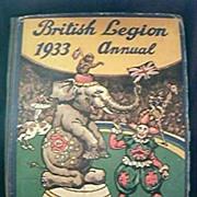 1933 British Legion Annual
