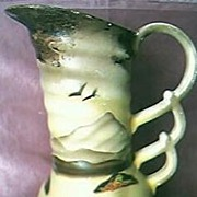 Vintage Art Deco English Pottery Vase Circa 1930's