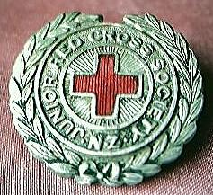 Vintage Junior Red Cross Badge New Zealand