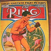 The Ring Boxing Magazine  Issue Vol. XV111 September 1939