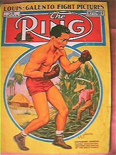 The Ring Boxing Magazine  Issue Vol. XV111 September 1939