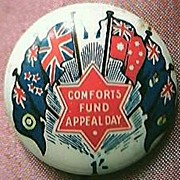 WW11 Australian Patriotic Tin Badge