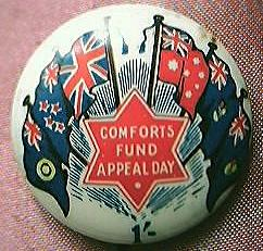 WW11 Australian Patriotic Tin Badge