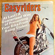 Vintage February 1974 EASYRIDERS Magazine