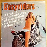 Vintage February 1974 EASYRIDERS Magazine