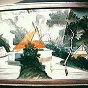 Vintage Japanese 3D Painting Circa 1890's