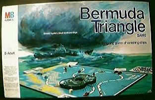 "Rare Vintage 1963 "" Bermuda Triangle"" Game"