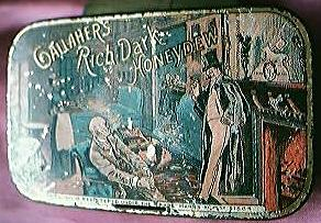 "Vintage ""Gallahers Rich Dark Honeydew"" Tobacco Tin"