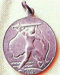 Vintage Australian WW11 Victory Medal 1945