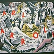 "Vintage 1941 Risque Large Postcard from ""Earl Carroll's Theatre Restaurant, Hollywood."