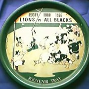 Rugby Memento from the 1966 Britsh Lions Tour to New Zealand