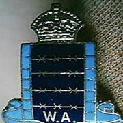 EX Prisoner Of War West Australia Association Badge