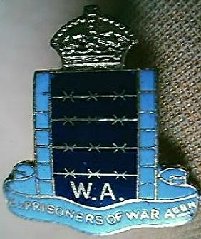 EX Prisoner Of War West Australia Association Badge