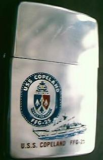 USS COPELAND  FFG-25 Souvenir Zippo Lighter