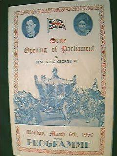 State Opening of Parliament King George VI 1950