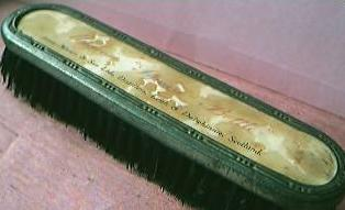 Vintage Whisky Advertising Clothes Brush