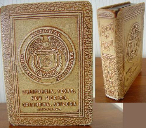 1920'S Vintage American Money Box National Guaranty Syndicate