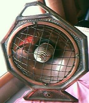 The HECLA FIRE Victorian / Edwardian Era Electric Heater