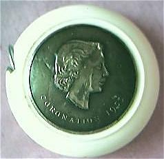 Queen Elizabeth 11 Coronation Tape Measure 1953
