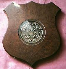 WW11 US NAVY Destroyer Squadron Thirteen Plaque