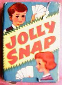 Vintage 1950's JOLLY SNAP Children's Card Game