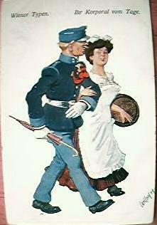 WW1 Austrian Humorous Postcard