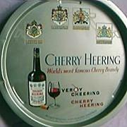 Cherry Heering Brandy Advertising Drinks Tray