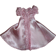"""Gorgeous and Rare Ideal Tagged 13""""Composition Shirley Temple Cinderella Dress"""