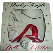 Vintage Ideal Shirley Temple Captain January White Sailor Suit In Original Box HARD TO FIND!