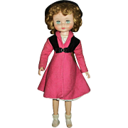"Vintage 20"" American Character Flirty Eye Betsy McCall Wearing Original Dress&Coat Outfit"