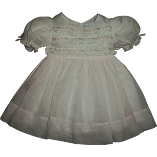 Large Factory Doll Dress For Baby or Toddler Dolls