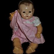 """Vintage Darling Effanbee 20"""" Dy-Dee Lou Pink Gingham Romper~Skirt Set"""