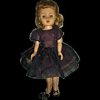 "Vintage Ideal 15"" Revlon Doll In ""Cherries a la Mode"" Hard To Find!!"