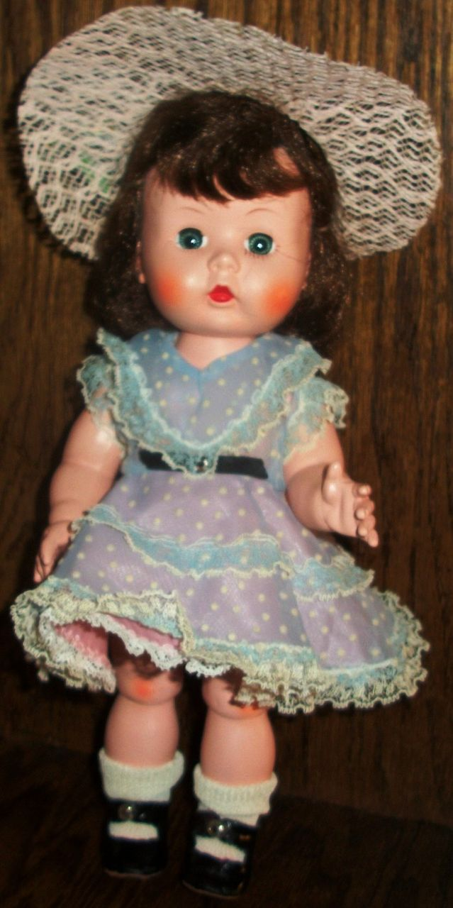 Perfect Arranbee/R&B HP Littlest Angel In Original Party Dress&Hat&Patent Shoes