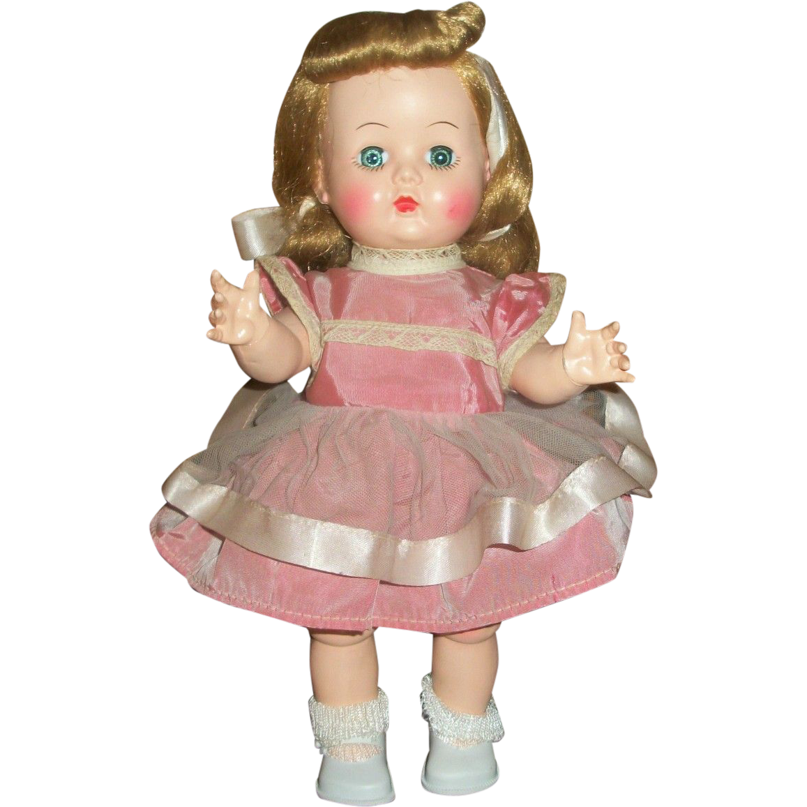 "Gorgeous 10.5"" HP Chubby Toddler BKW All Original With Great Hair!"