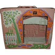 """Original 8"""" Betsy McCall Vinyl Case With Canopy Bed~Hard To Find!!"""